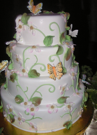 Butterfly Wedding Cake on Butterfly Wedding Cake   Wedding