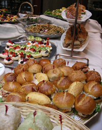 Buffet 2 at customer appreciation event - corporate caterer, Long Island