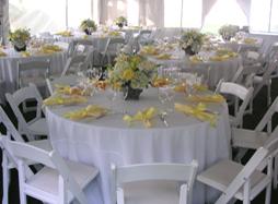 special table settings - long island caterer - elegant eating