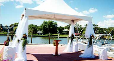 Renting a tent - ceremony tent & Rental Tents for your special affair - Elegant Eating Off-Premise ...
