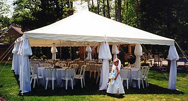 Tent Rentals Elegant Eating Off Premise Catering Long