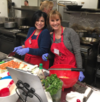 Friends Having Fun in Cooking Class - Great Night Out in Suffolk County