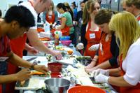 Sushi Cooking Class Participants