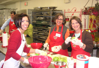 Having Fun at Cooking Class - Suffolk County, New York