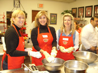 Ladies in Cooking Class