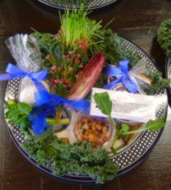 Passover Seder Plate contents available at Elegant Eating, Great Caterers on Long Island