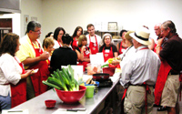 Cooking Class During Demo