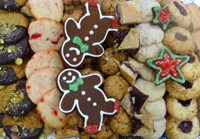 Delicious Holiday Cookies Made by Elegant Eating