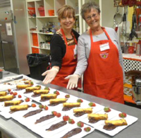 Plating with Style at an Elegant Eating Cooking Class