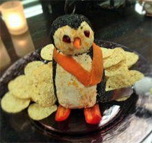Fun appetizer for Christmas party at home or in the office.