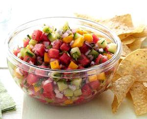 Watermelon Salsa - Delicious and Healthy